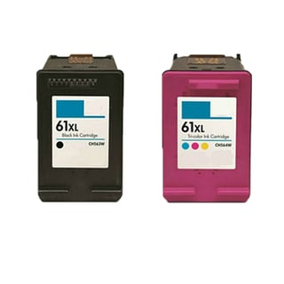 2PK CH563WN (HP 61XL) CH564WN (HP 61XL) Compatible Ink Cartridge For HP DeskJet 1000 - J110a (Pack of 2)