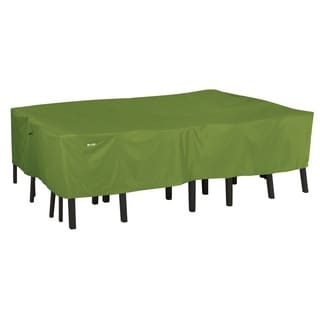Classic Accessories Oval Herb Sodo Patio Table and Chair Set Cover