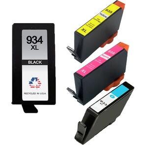 4PK 934 XL BK 935XL C M Y ( C2P23AN - C2P26AN ) Compatible Ink Cartridge For HP OfficeJet 6812 ( Pack of 4 )