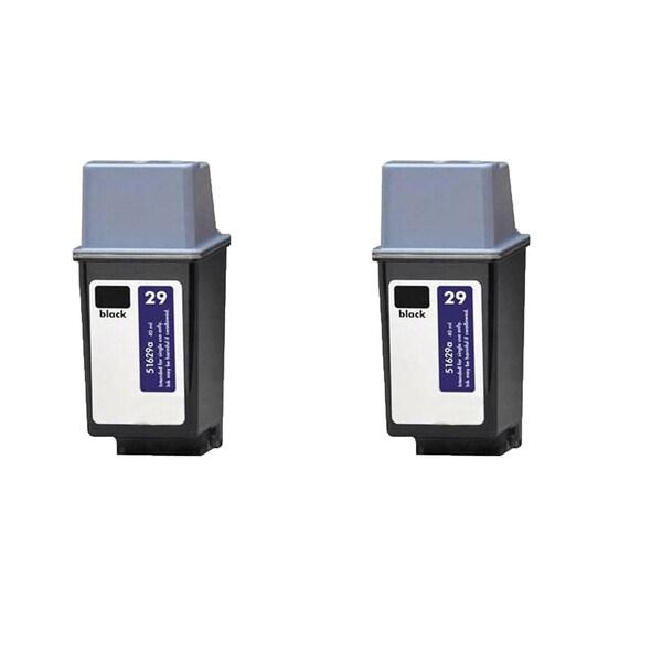 2PK HP 51629 (HP 29) Black Compatible Ink Cartridge For HP DeskJet 600, DeskJet 600c ( Pack of 2 )