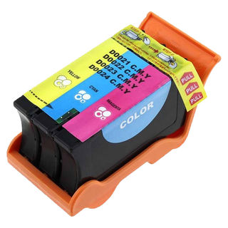 1PK T110N Color (Series 24) Compatible Ink Cartridge For Dell V715W P713W ( Pack of 1 )