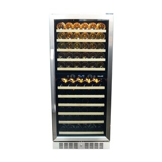 NewAir AWR-1160DB 116 Bottle Built-in Compressor Wine Cooler