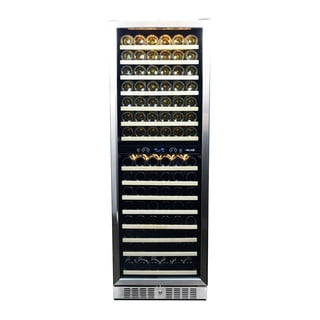NewAir AWR-1600DB 160 Bottle Built-in Compressor Wine Cooler