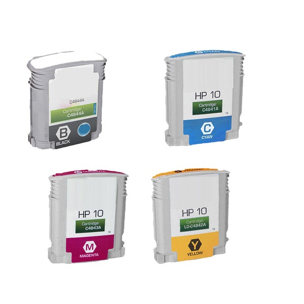 4PK C4841A - C4844A C Y M BK Compatible Ink Cartridge For HP Designjet 1000 1100 1100d ( Pack of 4 )