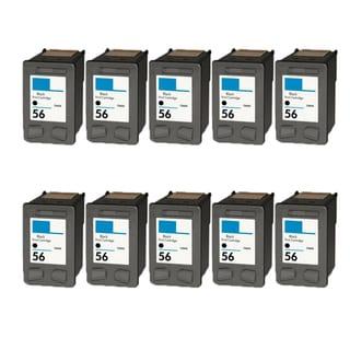 10PK HP C6656 (HP 56) Compatible Ink Cartridge For HP Deskjet 3550 5550 5652 9650 9680 (Pack of 10)
