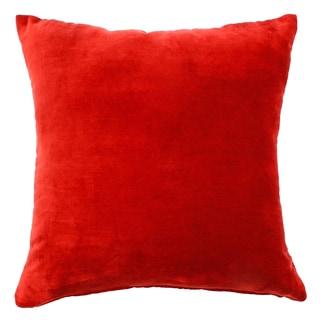Velvet Red Pillow