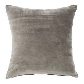 Velvet Grey Pillow