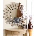 Abbyson Living Newport Round Wall Mirror