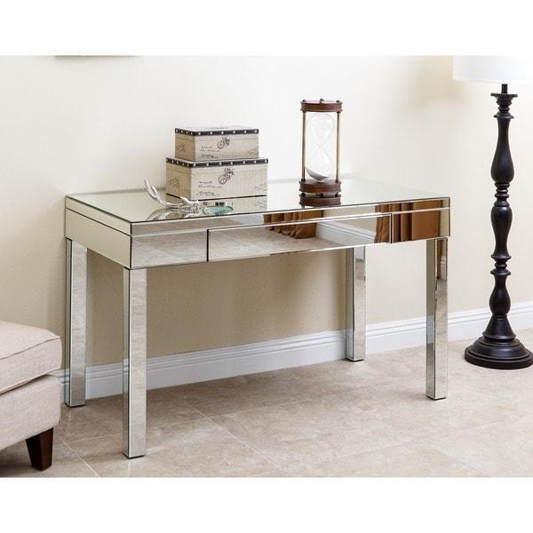 ABBYSON LIVING Sylvia Mirrored Desk