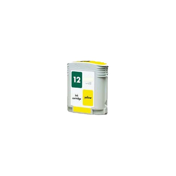 1PK C4806A HP 12 Yellow Compatible Ink Cartridge For HP Designjet 3000 ( Pack of 1 )
