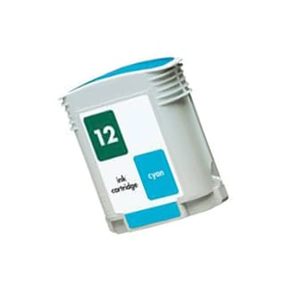 1PK C4804A HP 12 Cyan Compatible Ink Cartridge For HP Designjet 3000 ( Pack of 1 )