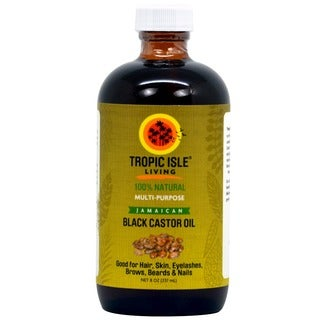 Tropic Isle 8-ounce Jamaican Black Castor Oil with Applicator