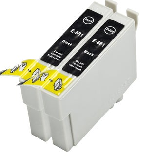 2PK T0881 Compatible Ink Cartridge For Epson NX400 NX415 ( Pack of 2 )