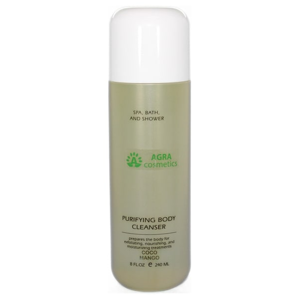 AGRA Cosmetics Purifying 8-ounce Coco-Mango Body Cleanser