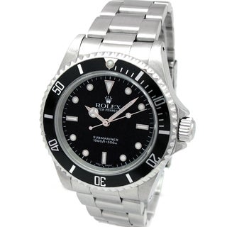 Pre-Owned Rolex Submariner No-Date Automatic Black Dial Watch