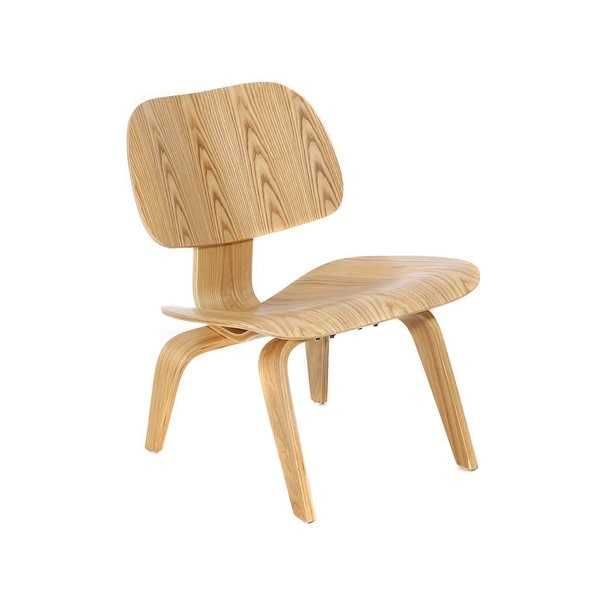 MCM Eames Style Molded Plywood Lounge Chair