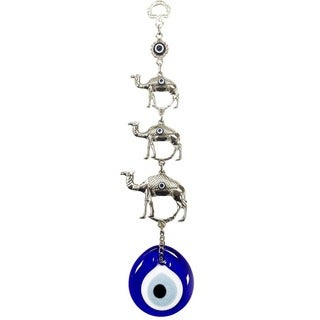 Camel Figure Evil Eye Wall Art