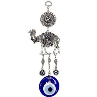 Camel Figure and Evil Eye Wall Art