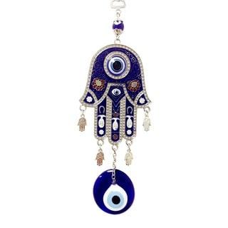 Evil Eye with Giant Hand of Fatima Wall Art