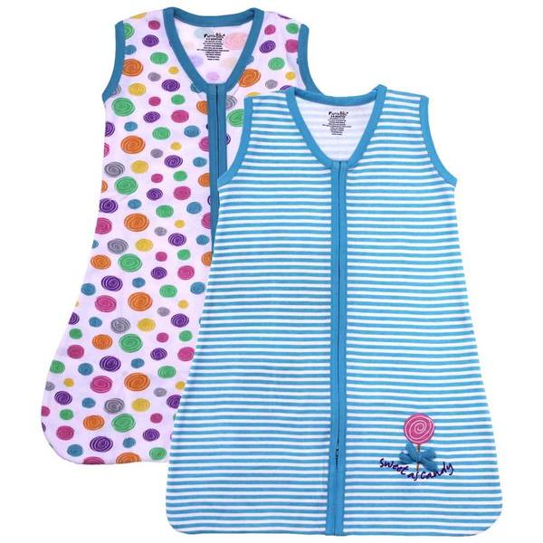 Funkoos Organic Scribble Dots Wearable Blanket (2 Pack)