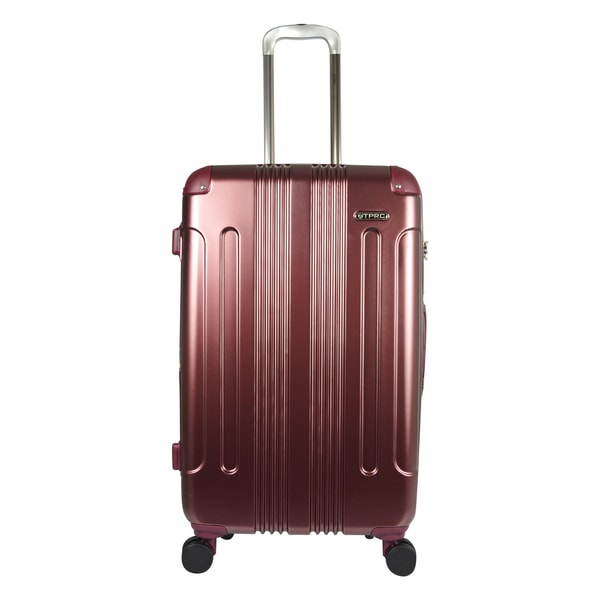 Traveler's Club Calypso 26-inch P.E.T. Expandable Double-Spinner Suitcase
