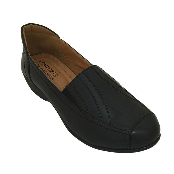 Women's Casual Comfort Slip On Low Heel Shoes
