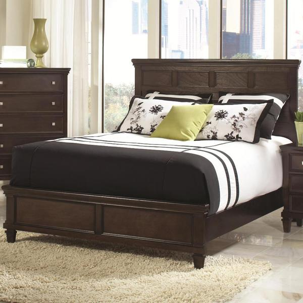 tucson 3 piece cappuccino bedroom set 17683993