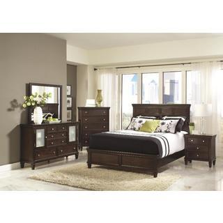 Tucson 6-piece Cappuccino Bedroom Set