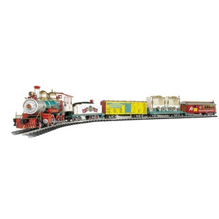 """Bachmann Trains Ringling Bros. And Barnum & Bailey - Large """"G"""" Scale Ready To Run Electric Train Set"""