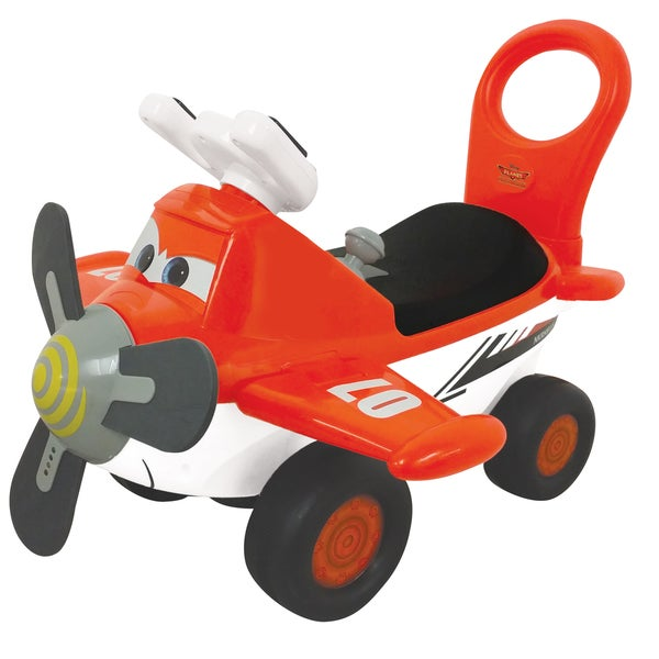 Kiddieland Disney Planes Fire & Rescue Dusty Activity Ride-On