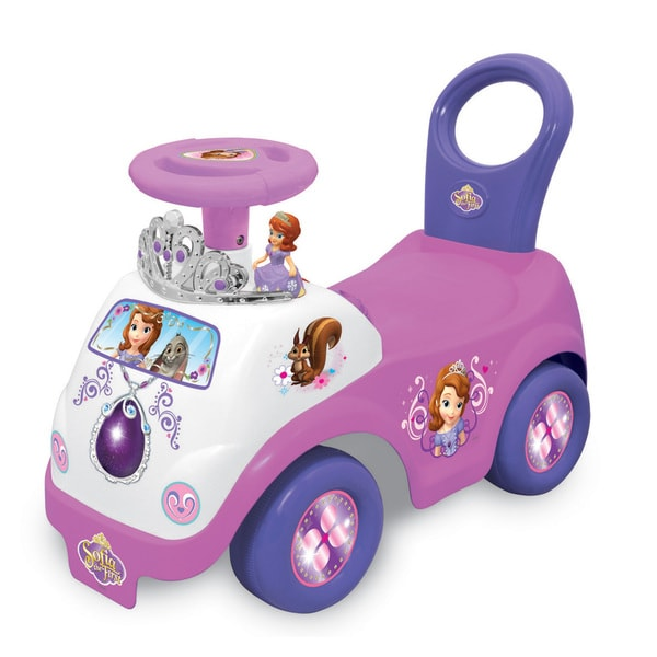 Kiddieland Disney Sofia the First Princess Sofia Drive Along Ride-On