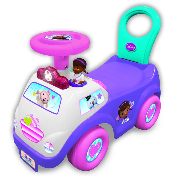Kiddieland Disney Doc McStuffins My First Doc Activity Ride-On