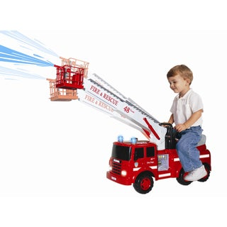 Skyteam Technology Action Fire Engine Ride-On