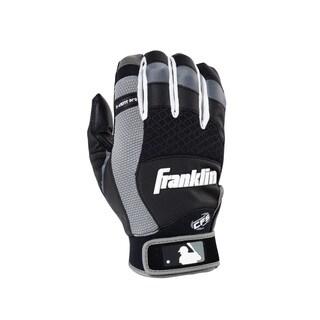 Franklin Sports X-Vent Pro Batting Glove Black/Gray Youth Small
