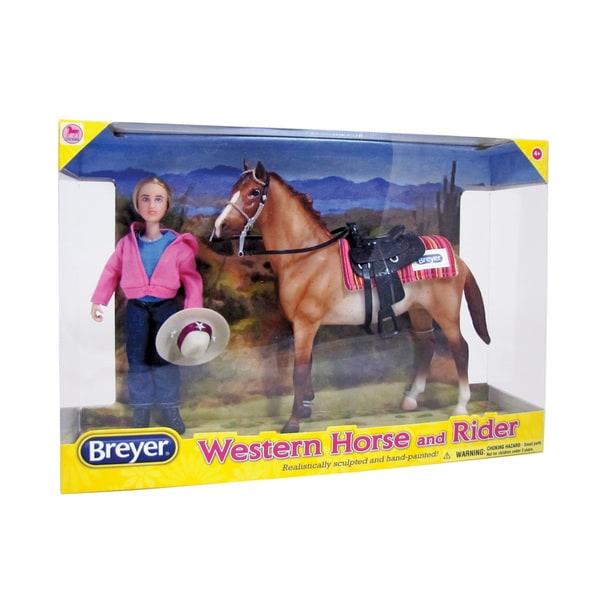 BREYER Classics Western Horse & Rider 16343802