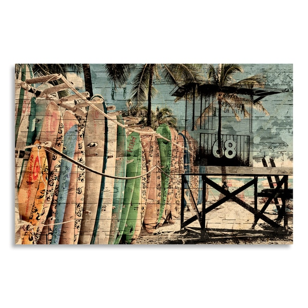 Time Off Print by New Era Original on Birchwood Wall Art