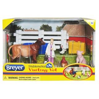 BREYER Stablemates Visiting Vet Play Set
