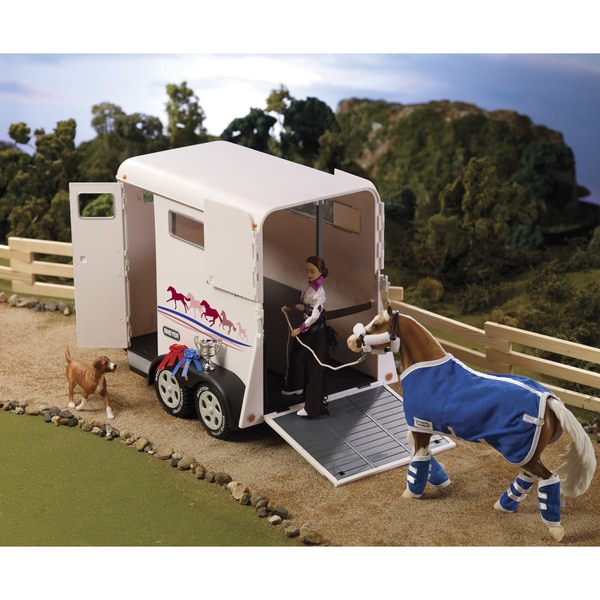 BREYER Traditional Series Two-Horse Trailer