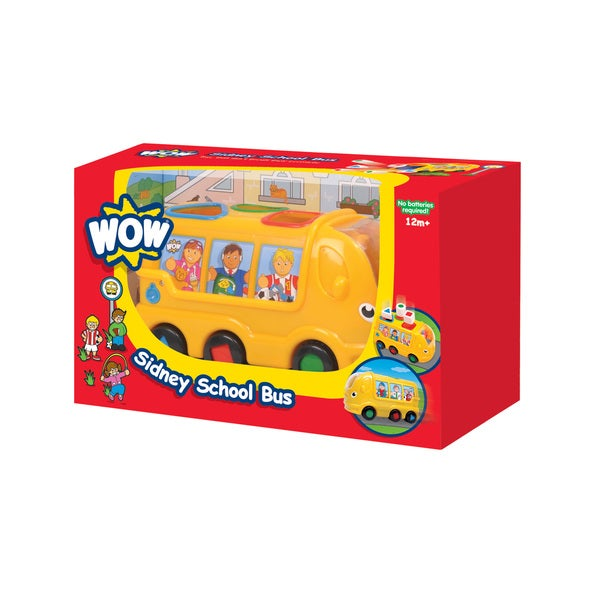 WOW Toys Sidney School Bus Play Set