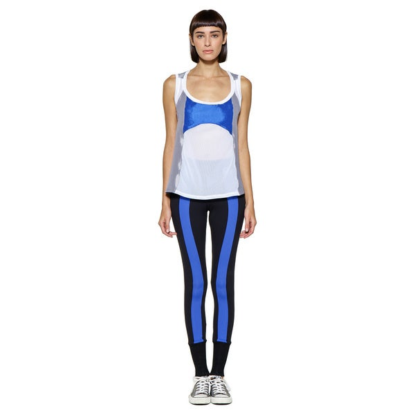 Women's Colorblock Zip Front Legging