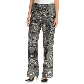 Sunny Leigh Women's Printed Wide Leg Pants