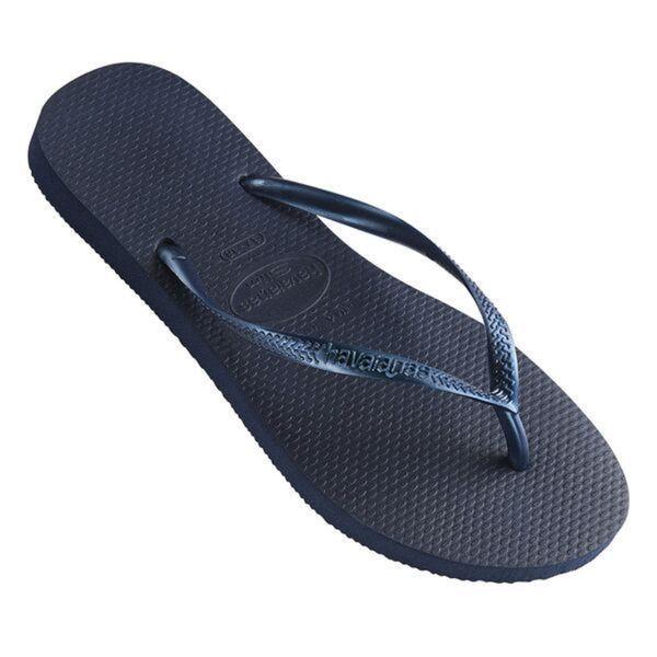 Havaianas Women's Navy Rubber Regular Flip-flop Sandals