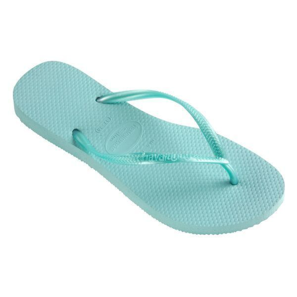 Havaianas Women's Ice Blue Rubber Regular Flip-flop Sandals