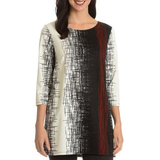 Sunny Leigh Women's Multi-Colored Printed Tunic