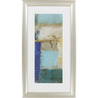 "Abstract Lucian Rectangular Framed Giclee on Paper 24"" x 42"""