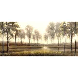 """Landscapes Debbie Hand-embellished Canvas Giclee 30"""" x 60"""""""