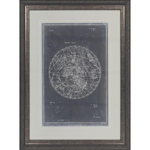 """Map Arlene Rectangular Framed Giclee on Paper 31"""" x 41"""""""