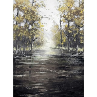 "Morning Landscapes Melvin Hand-embellished Canvas Giclee 36"" x 48"""