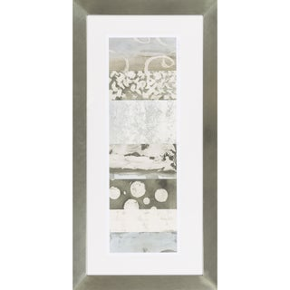 "Abstract Jeanne Rectangular Framed Giclee on Paper 43"" x 22"""