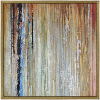 """Abstract Reuben Square Framed Oil-painting on Canvas 50"""" x 50"""""""